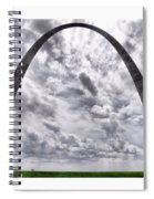 St Louis Arch Spiral Notebook