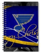 St Louis Blues Christmas Spiral Notebook