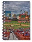 St Louis Cardinals Busch Stadium Dsc06139 Spiral Notebook