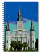 St Louis Cathedral 3 Spiral Notebook
