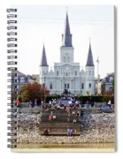 St Louis Cathedral Spiral Notebook