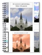St Louis Cathedral In New Orleans Spiral Notebook