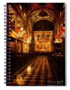 St. Louis Cathedral New Orleans - Textured Spiral Notebook