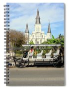 St Louis Cathedral New Orleans Spiral Notebook