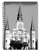 St Louis Cathedral Poster 1 Spiral Notebook