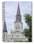 St. Louis Cathedral Through Trees Spiral Notebook