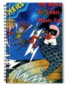 St Louis Music Contest Winners Spiral Notebook