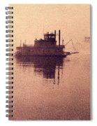 St Louis Paddlewheeler Spiral Notebook