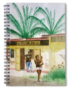 St. Lucia Store Spiral Notebook