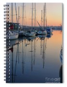 St. Malo Sunrise Brittany France Spiral Notebook