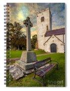 St. Marcellas Celtic Cross Spiral Notebook