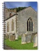 St Margaret's Church - Wetton Spiral Notebook
