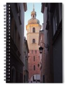St. Martin's Church Bell Tower In Warsaw Spiral Notebook