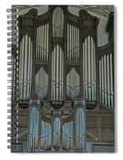 St Martins In The Field Organ Spiral Notebook