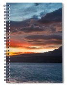 St. Mary Lake Dawn 1 Spiral Notebook