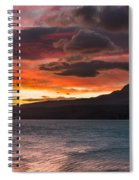 St. Mary Lake Dawn 2 Spiral Notebook