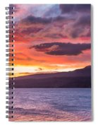 St. Mary Lake Dawn 4 Spiral Notebook