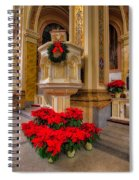 St. Mary Of The Angels Christmas Lectern Spiral Notebook