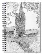 St Marys Church Tenby Spiral Notebook