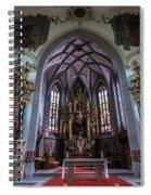 St. Maurice Church - Appenzell - Switzerland Spiral Notebook