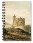 St Mawes Castle Spiral Notebook
