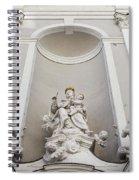 St Michael Church Sculptures In Budapest Spiral Notebook