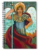 St. Michael The Archangel Spiral Notebook