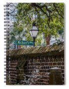 St. Michaels Alley Spiral Notebook