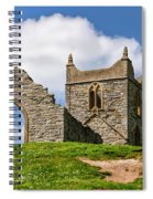 St Michael's Church - Burrow Mump 4 Spiral Notebook
