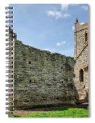St Michael's Church - Burrow Mump 5 Spiral Notebook
