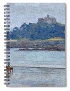St Michaels Mount Spiral Notebook