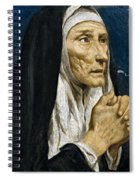St Monica Spiral Notebook