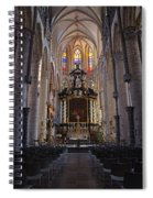 St Nicholas Church Ghent Spiral Notebook