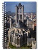 St Nicholas Church View Spiral Notebook