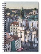 St Nicholas Prague Spiral Notebook