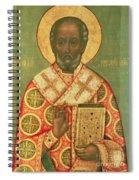 St. Nicholas Spiral Notebook