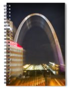 St Ouis Arch Special Zoom Effect Spiral Notebook