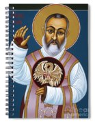 St. Padre Pio Mother Pelican 047 Spiral Notebook