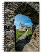 St Patrick Arch Spiral Notebook