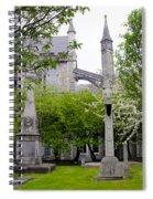 St Patricks Cathedral - Dublin Ireland Spiral Notebook