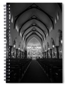 St Patricks Cathedral Fort Worth Spiral Notebook