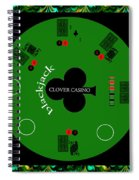St. Patrick's Day Tournament - Featured In 'cards For All Occasions' Spiral Notebook