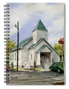 St. Paul Congregational Church Spiral Notebook