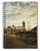 St. Pauls Anglican Church With Wagon  Spiral Notebook