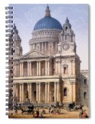 St Pauls Cathedral Spiral Notebook