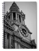 St Pauls Clock Tower Spiral Notebook