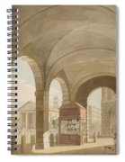 St. Pauls, Covent Garden C.1765-75 Graphite And Wc On Paper Spiral Notebook