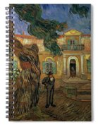 St Pauls Hospital, St Remy, 1889 Spiral Notebook