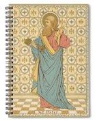 St Peter Spiral Notebook