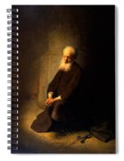 St. Peter In Prison, 1631 Spiral Notebook